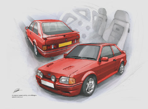 Ford Escort RS turbo Series two (S2)