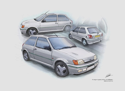 Fiesta RS Turbo - White