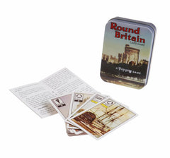 Around Britain Vintage Card Game