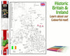 UK and Ireland Giant Colouring Poster Map