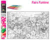 Fairy Colouring Poster Art Kit
