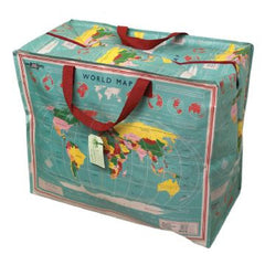 World Map Storage/Sleepover Bag