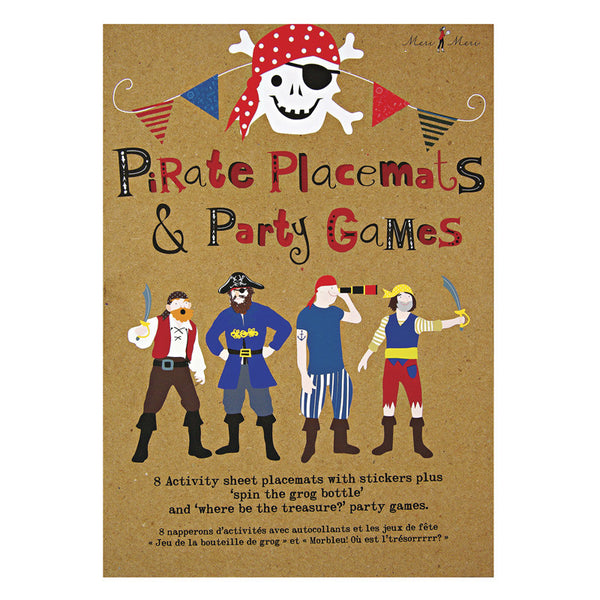Pirate Party Activity Pack and Placemats
