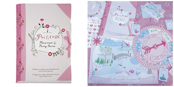 Princess Party Activity Set and Placemats