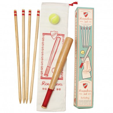 Wooden Rounders Kit