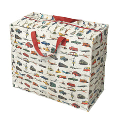 Vintage Transport Design Storage/Sleepover/Laundry Bag
