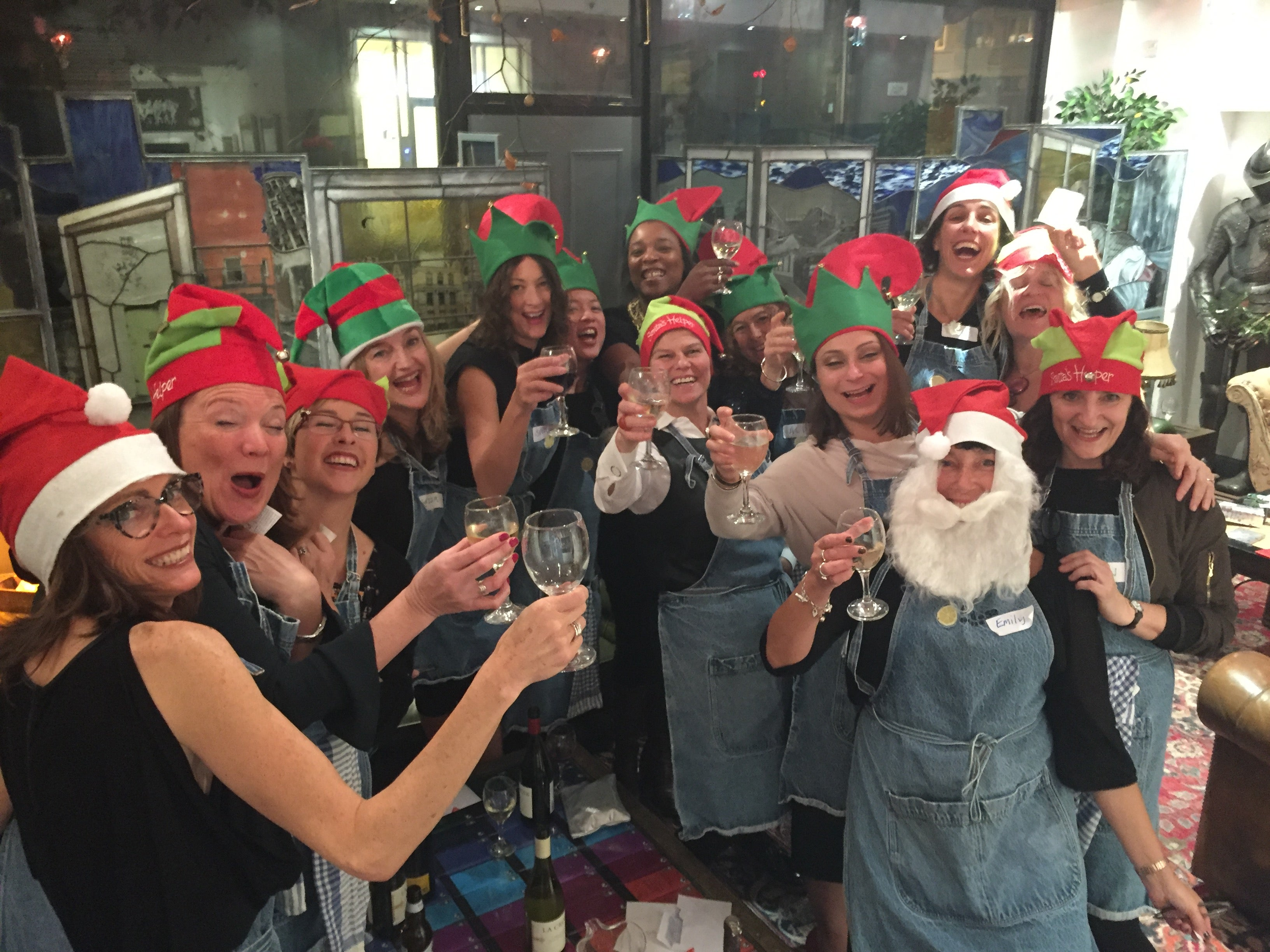 Christmas party cheer at Food at 52