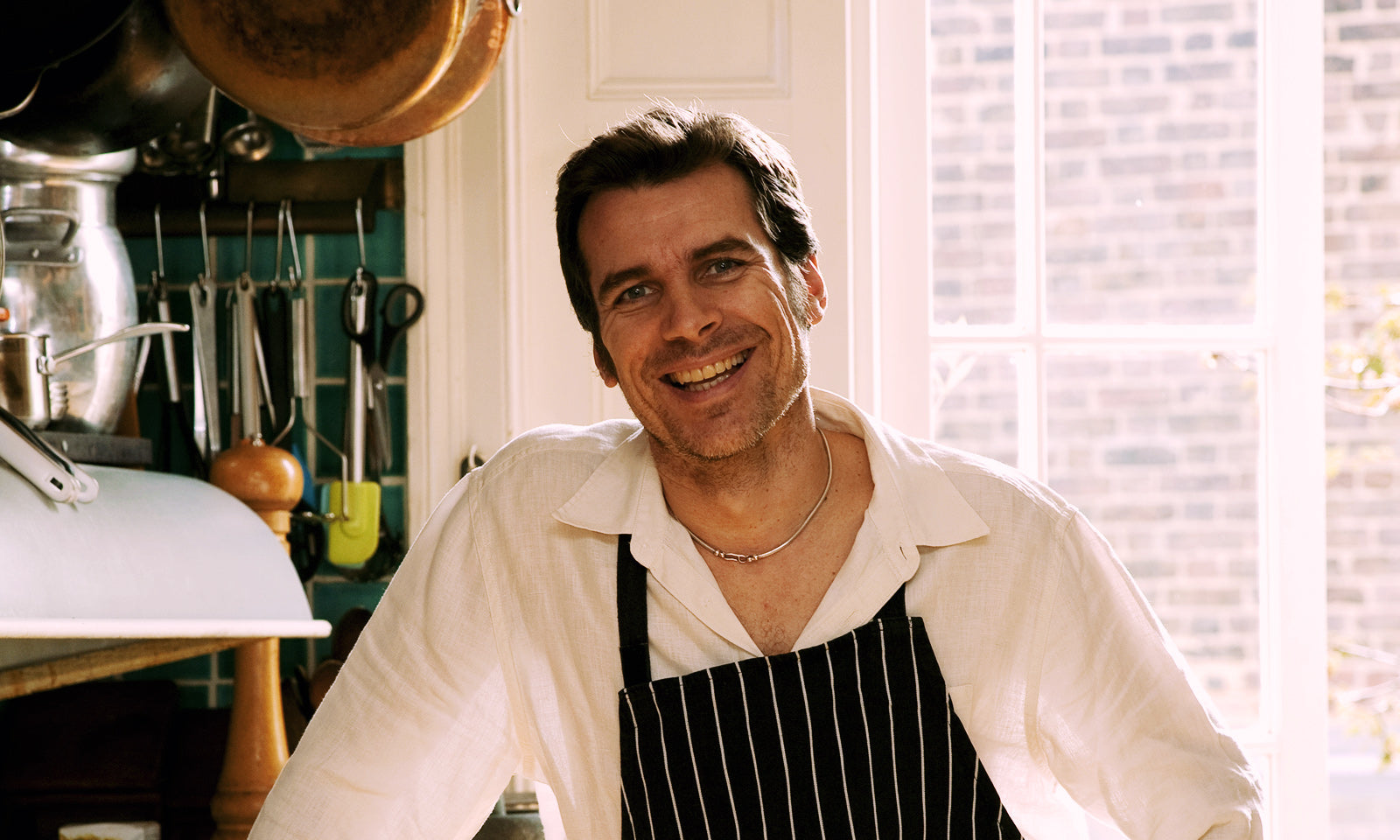 Photo of John Benbow, Chef and founder of Food at 52.