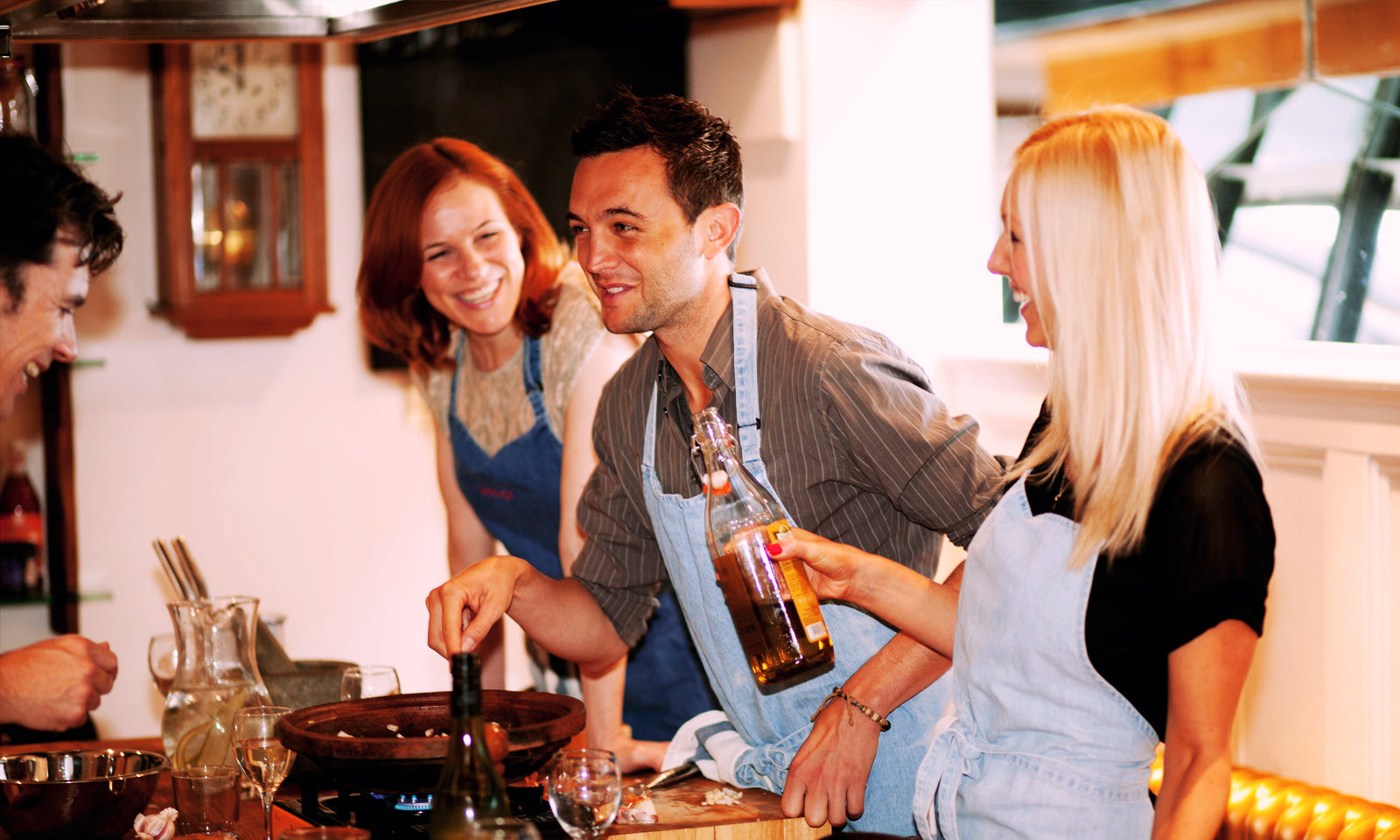 Fun cooking classes london