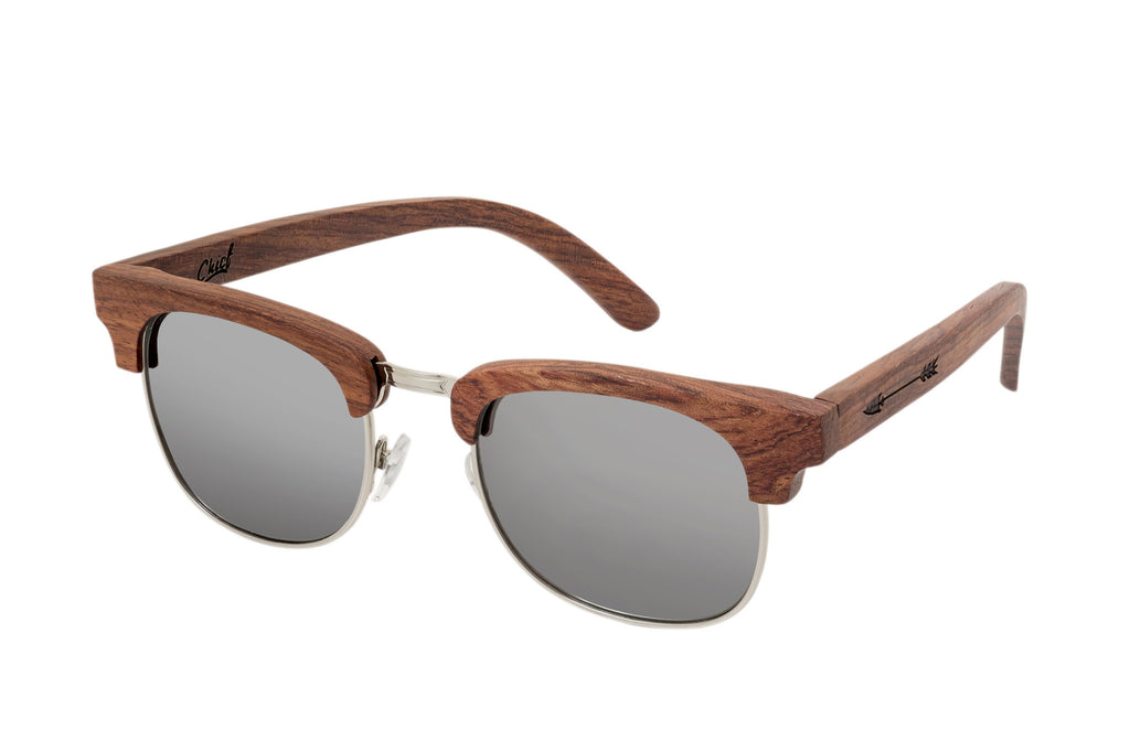 Bubinga-Wood-Sunglasses-Silver
