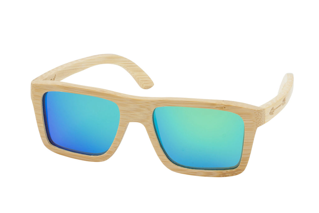 Caddo-Natural-Green-Bamboo-Sunglasses