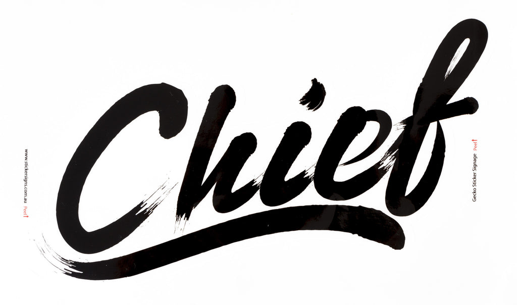 Premium Chief Stickers