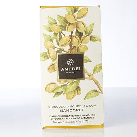Amedei Chocolate and Almond bar 50g