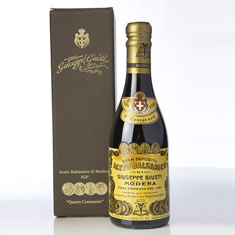 Giusti Fourth Centenary Box Balsamic Vinegar Modena 250mL