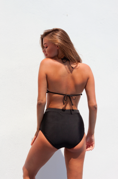 Bella bikini SET (bottom+top) black - BONDI VENUS