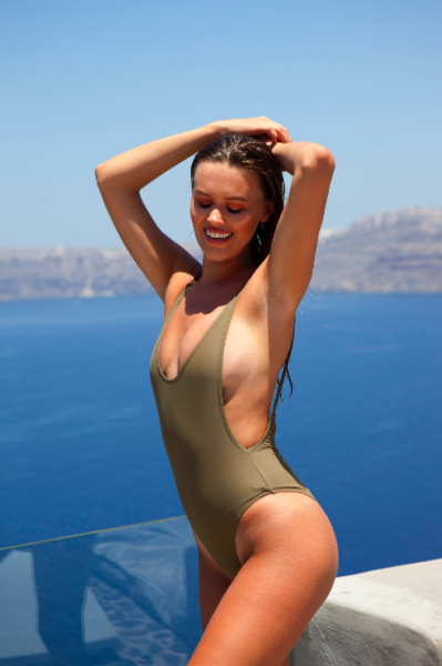 Miami One Piece khaki - BONDI VENUS