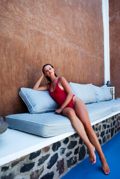 Miami One Piece red - BONDI VENUS