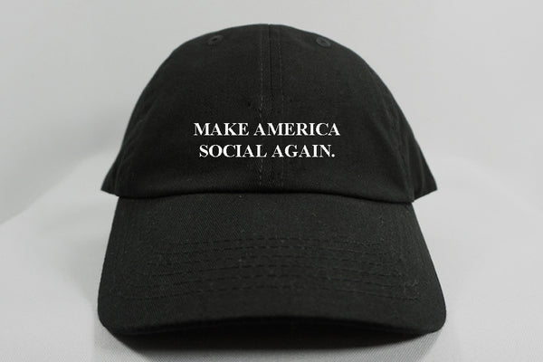 MAKE AMERICA SOCIAL AGAIN DAD HAT