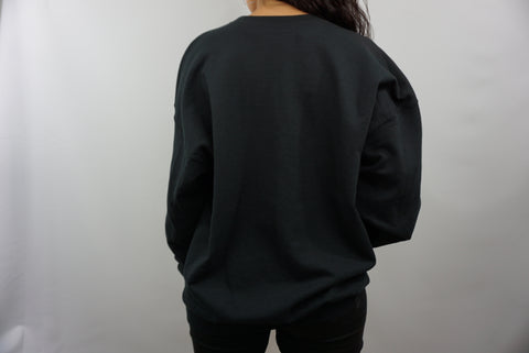 PITCH BLACK SWEATER