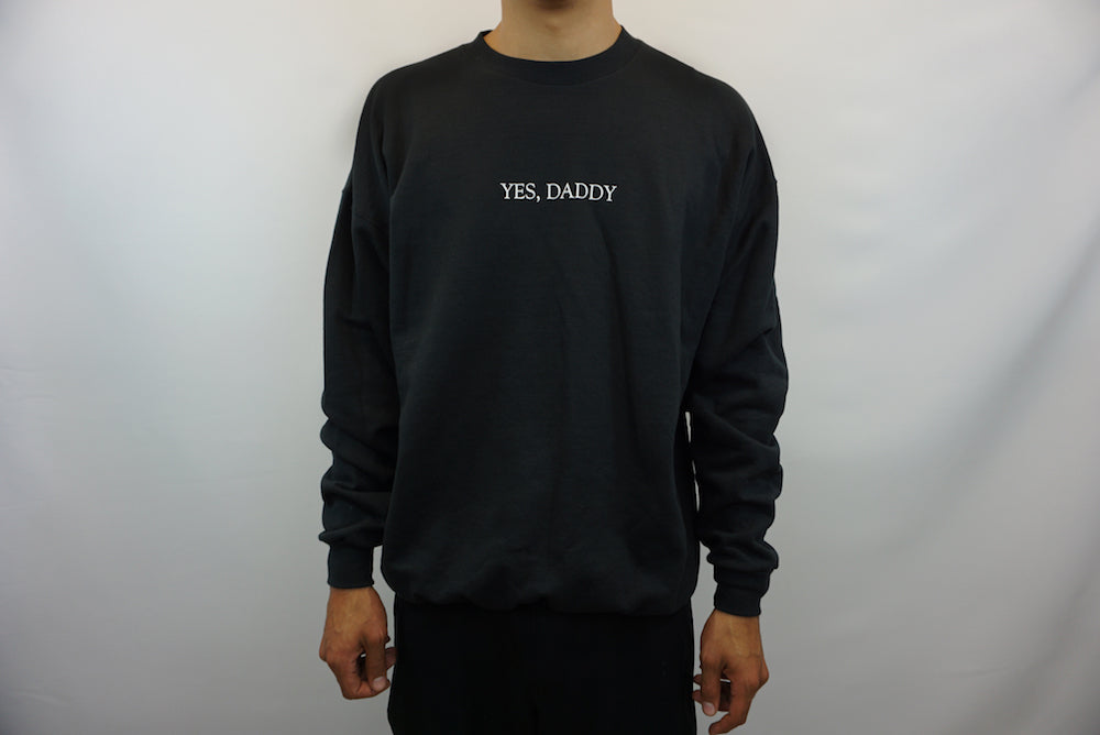 YES, DADDY SWEATER