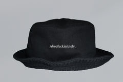 ABSOFUCKINLUTELY BUCKET HAT