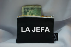 La Jefa Zipper Wallet