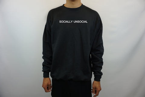 SOCIALLY UNSOCIAL SWEATER
