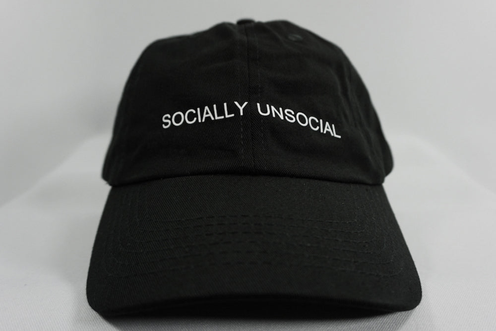 SOCIALLY UNSOCIAL DAD HAT