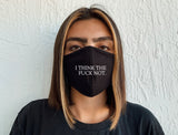 The Fuck Not Face Mask | Sustainable and Reusable