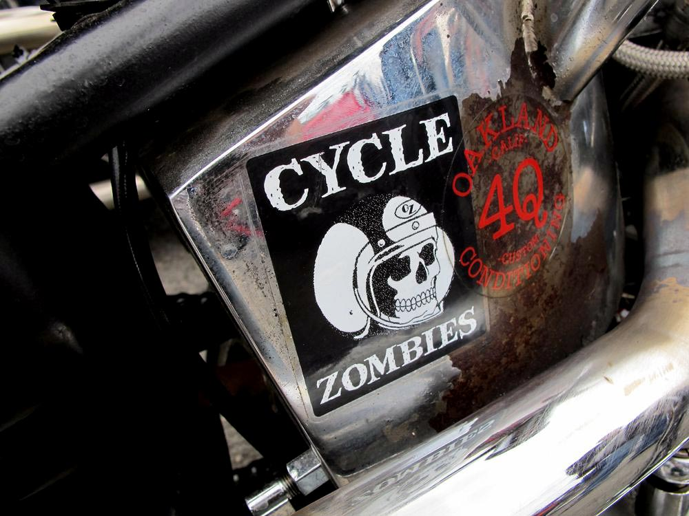 born free 2 cycle zombies throttle chops amp bobs
