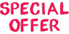 SPECIAL OFFERS THIS MONTH