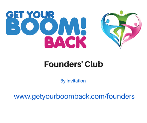 Get Your Boom! Back Founders' Club