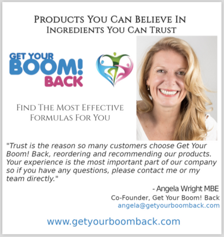 Get Your Boom! Back Product Guide