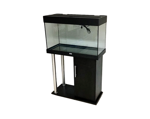 Realy 125 Freshwater Aquarium Set (Black)