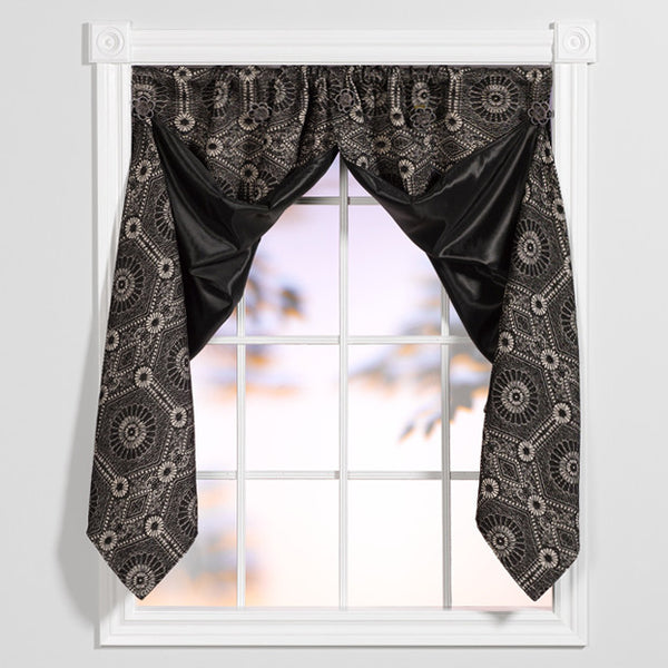 Window origami steel gatsby windoworigami curtains for Origami curtain
