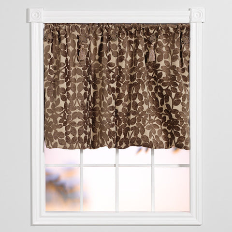 Window Origami™ Lovely Leaves - Beige and Brown