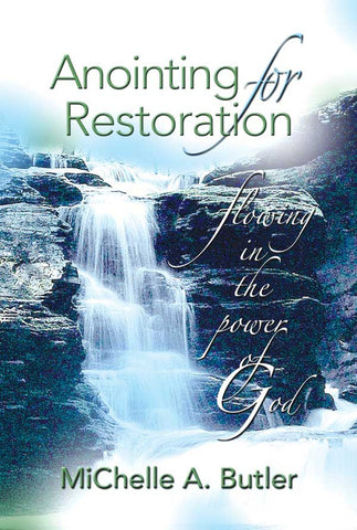 Anointing for Restoration - Book