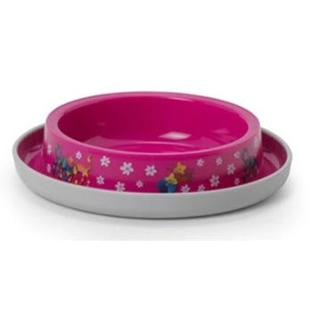 Moderna Trendy Dinner Cat Bowl - Friends Forever