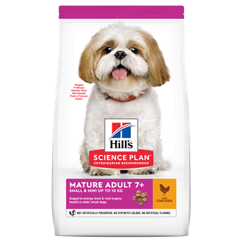 Hills Canine Adult Mature Small and Mini 7 Plus - Chicken