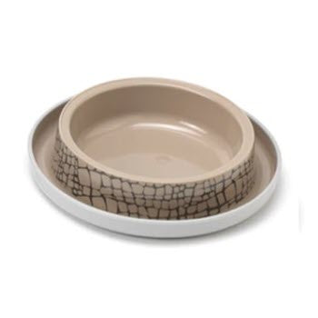 Moderna Trendy Dinner Cat Bowl - Wild Life
