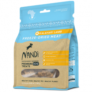 Nandi Dog Freeze-Dried Meat Treats - Kalahari Lamb