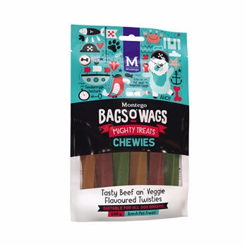 Montego Bags O Wags Beef & Veggie Chewies