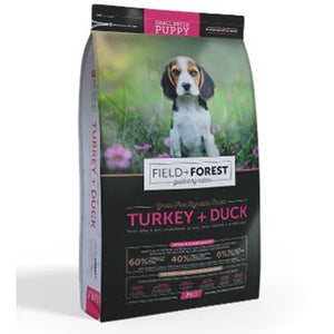Field and Forest Puppy Small Breed Turkey and Duck