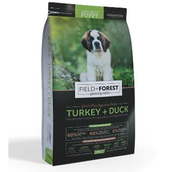 Field and Forest Puppy Large Breed Turkey and Duck