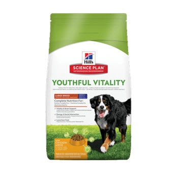 Hills Canine Youthful  Vitality Mature 5 Plus Canine Large Breed