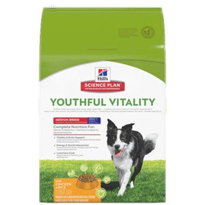 Hills Youthful Vitality Mature 7 Plus Canine Medium Breed