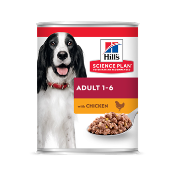 Hills Canine Adult Chicken Can 370g
