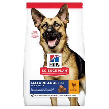 Hills Canine Adult Mature Large Breed 5 Plus - Chicken