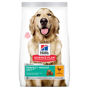 Hills Canine Perfect Weight Adult Large Breed Chicken Dog Food