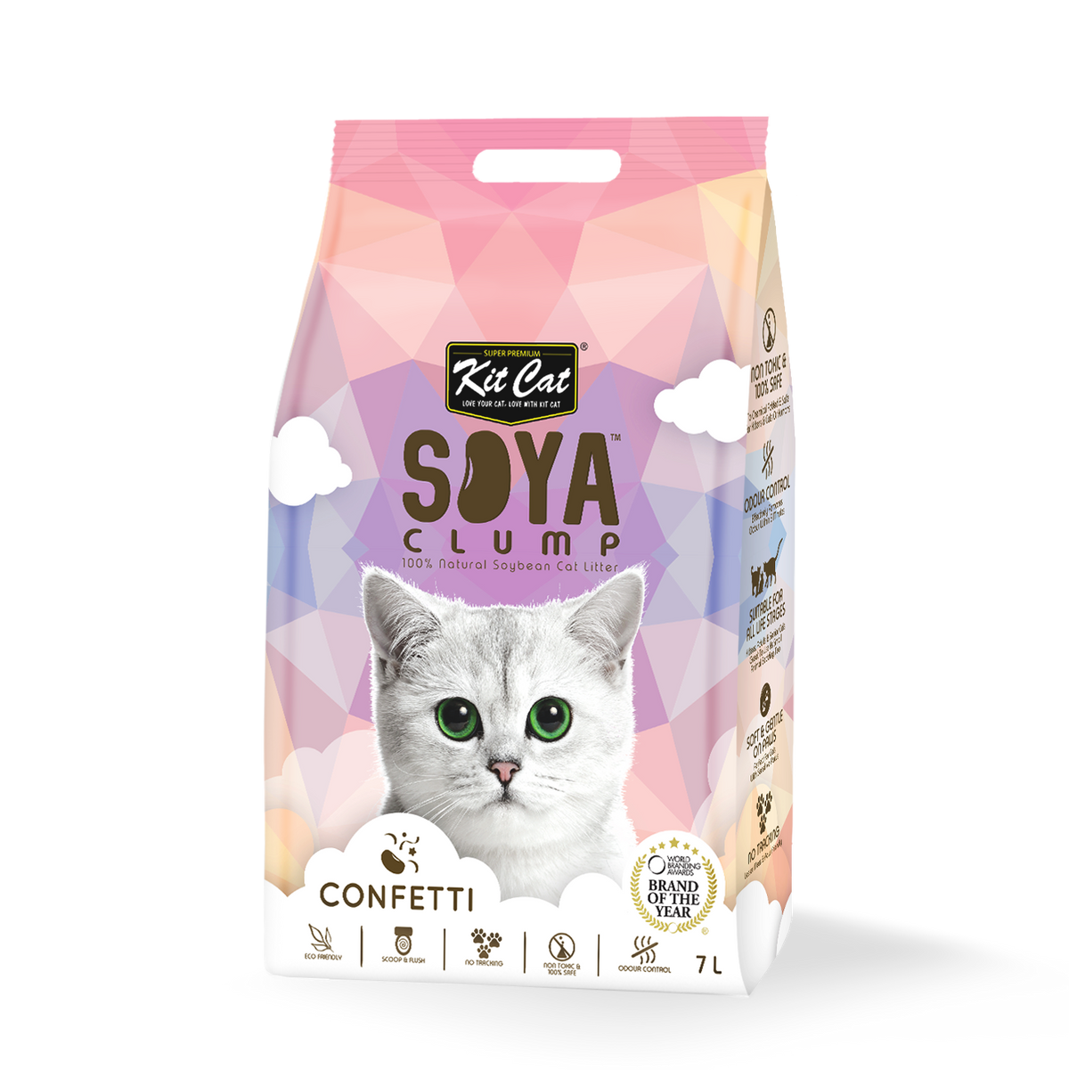 Kit Cat Soya Clump Confetti